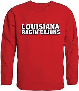 W Republic University of Louisiana at Lafayette NCAA Mens College Crewneck Fleece Sweatshirt