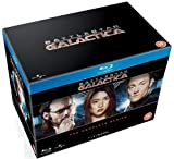 [UK-Import] Battlestar Galactica The Complete Series (Season 1-4 + Razor + Miniseries) [Blu-Ray] - Edward James Olmos