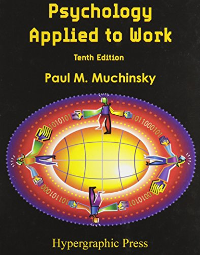 Psychology Applied to Work