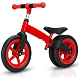 Shopps Ultra-Light Kids Balance Bike - Pneu antidéflagrant pour Corps en Alliage...