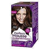 Schwarzkopf Perfect Mousse–Coloración permanente–Castaño chocolate 465