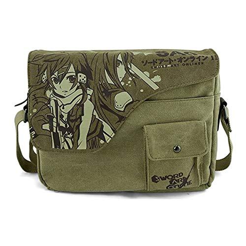 Bonamana Mein Nachgbar Totoro Cosplay Galesaur Canvas Umhänge Messeger Japanische Tasche Chinchilla Cartoon UMHÄNGETASCHE (Sword Art Online)