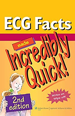 ECG Facts Made Incredibly Quick! (Incredibly Easy! Series) (Incredibly Easy! Series (R)) by Lippincott Williams and Wilkins