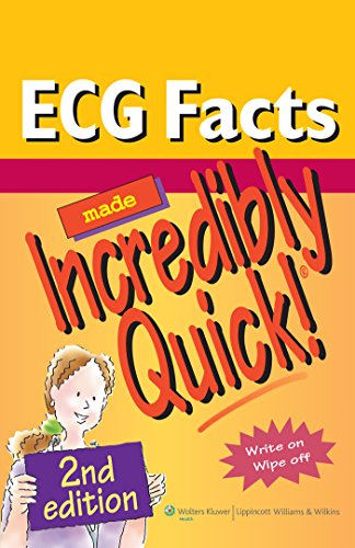 ECG Facts Made Incredibly Quick! (Incredibly Easy! Series®)