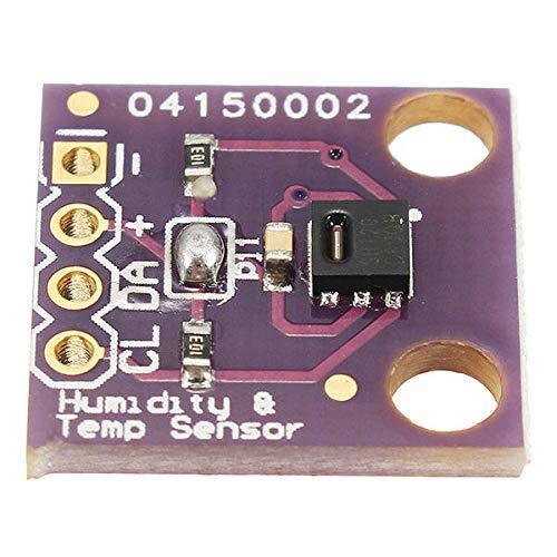 Kondensatoren GY-213V-HTU21D 3.3V I2C-Temperatur-Feuchtigkeits-Sensor-Modul Geekcreit for A-r-d-u-i-n-o - Produkte, DASS die Arbeit mit dem Offiziellen A-r-d-u-i-n-o-Boards 3Pcs