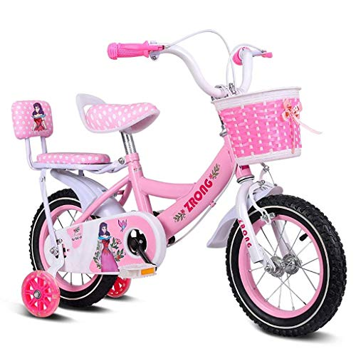 Great Price! Children's Bicycle Princess Student Bicycle Pink swan Pedal Bicycle 12/14/16 inch with ...