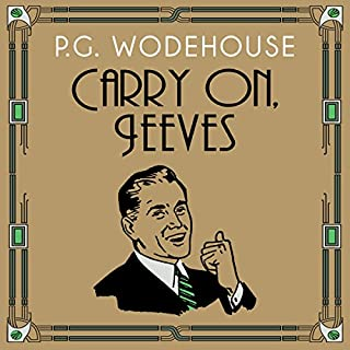 Carry On, Jeeves cover art