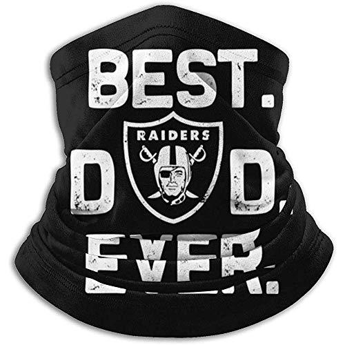 air kong Best Raiders Dad Ever Chaqueta de béisbol para Adultos Uniforme Coat Sudadera Outwear Plus Velvet
