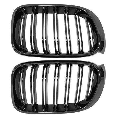 Sport Kühlergrill Nieren Doppelsteg schwarz glänzend ab 14 für X3 X4 F25 F26 xDrive20d xDrive20i xDrive28d xDrive28i xDrive30d xDrive35d xDrive35i M40i
