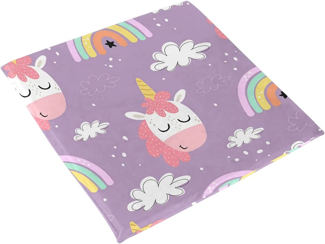 Unicorns Rainbows Clouds Seat Wholesale Cushion Chair Foam Pad Chai Memory Our shop OFFers the best service