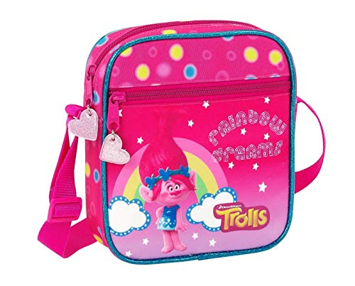Trolls Mini Schultertasche, Tasche, rosa