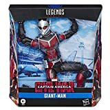 Hasbro Marvel Legends Series Build-A-Figure Deluxe 6' Scale Collectible Action Figure Giant-Man Toy, Premium Design, for Kids Ages 4 & Up
