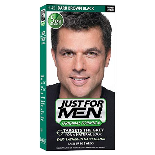 Just for Men Just For Men Dk Brwn # 45 Taille 1ct Just For Men # 45 Dark Brown Couleur de cheveux