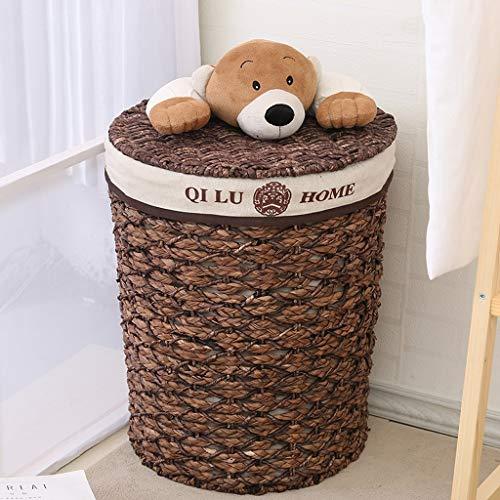 GSHWJS Wasmand, creatief, met deksel, ondergoed, speelgoed, visvorm, textuur, emmer, wasmand