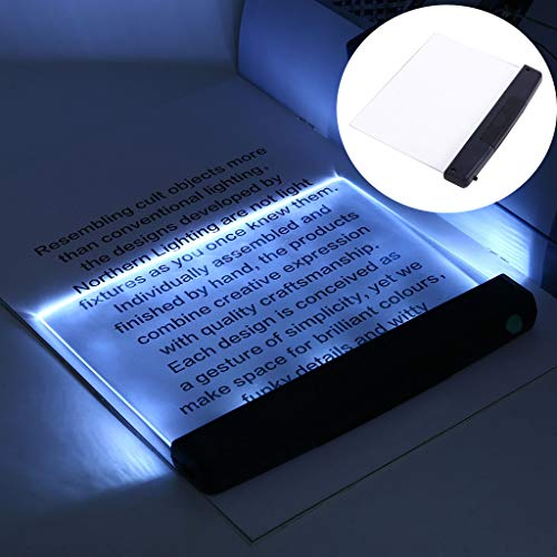 Tiapo LED Reading Light Warm White Brightness for EyeProtection Portable Bookmark Light for Reading in Bed Car