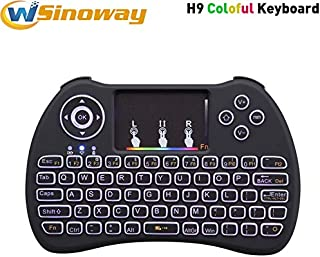 Color: Spanish no backlit Calvas Normal /& Backlit i8 2.4GHz Wireless Keyboard Air Mouse Touchpad Handheld English Spanish Russian For Android TV BOX