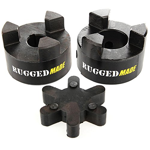 Buy Bargain 7/8 x 7/16 Lovejoy L095 Jaw Coupling with Flexible Rubber Spider Coupler Insert