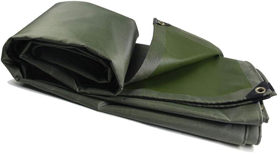 Bache Imperméable Lourde Toile PVC imperméable de toile de polyester de tissu d'auvent de prougeection solaire extérieure de bache anti-pluie écran solaire de prougeection contre la pluie ( Taille   5x7m )