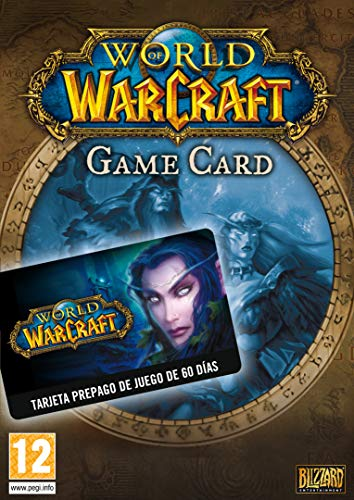 World of Warcraft: Tarjeta de Prepago 60 dÍas Card | Código Battle.net para PC