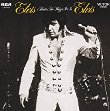 That's The Way It Is by Presley, Elvis (2009-01-06)