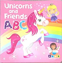 Page Publications Collection - Unicorns and Friends ABC - Padded Board Book - Learn the Alphabet - Early Learning for Chil...