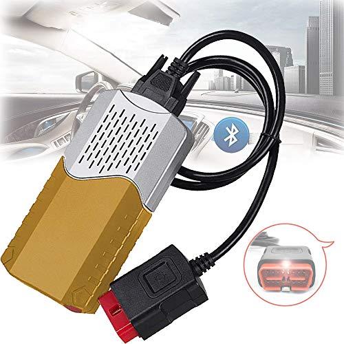 Obd2 Diagnosegerät Bluetooth Ios,Diagnosegerät Auto Usb,Obd2-Selbstdiagnosescanner, Obd2-Selbstdiagnose-USB, Obd-Ii-Motorsystem-Diagnosewerkzeuge, Obd-Ii-Anschluss, 150E TCS CDP OBD2,Gold