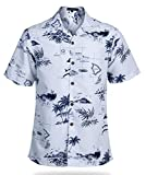 YEAR IN YEAR OUT Mens Hawaiian Shirt Regular Fit Hawaiian Shirts for Men with Quick to Dry Effect(NT1916,XL)