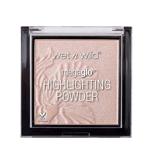 Wet n Wild MegaGlo Highlighting Powder (Blossom Glow) - Iluminador en Polvo con efecto Brillo - 1 unidad