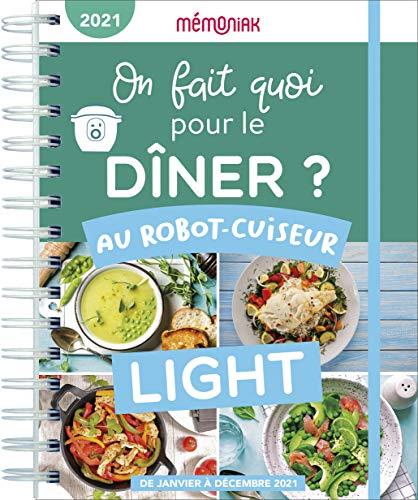 On fait quoi pour le dîner au robot-cuiseur Light ? Mémoniak 2021