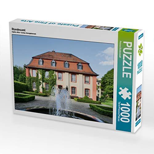 CALVENDO Puzzle Standesamt 1000 Teile Lege-Größe 64 x 48 cm Foto-Puzzle Bild von Petrus Bodenstaff