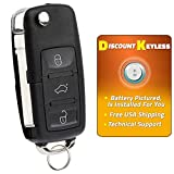 Discount Keyless Replacement Uncut Car Remote Fob Key For Volkswagen Passat Jetta Golf Cabrio HLO1J0959753AM