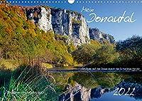 Mein Donautal (Wandkalender 2022 DIN A3 quer): Ein Fluss reist durch die Schwaebische Alb (Monatskalender, 14 Seiten )