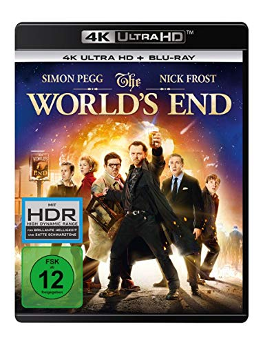 The World's End  (4K Ultra HD) (+ Blu-ray 2D)