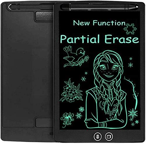 COOLEAD 8.5 Pulgadas Tablet para Niños LCD con Función Botón de Bloqueo/Borrado Total/Borrado Parcial Portátil Pizarra Digital, Pizarra Electrónica para Niños, Tableta de Escritura
