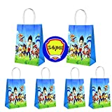 16pcs paw Patrol birthday party candy gift bags, candy gift boxes, storage bags, gift bags, party decoration supplies for boys and girls.