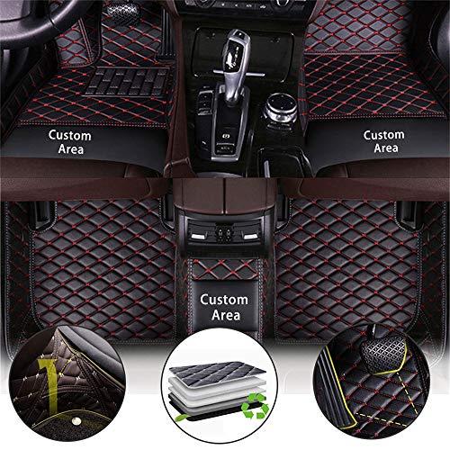 Tappetini Abitacolo Auto per Mercedes Benz W169 A45 AMG W245 W246 W203 W204 W205 W211 W212 W213 W207 W126 W140 W463 CL CLA Pelle CoperturaCompleta Moquette Anti Scivolo Tappeti Impermeabile Tappeto