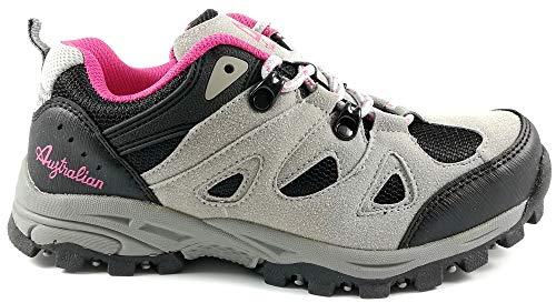 Australian Scarpe Donna Trekking Escursione Sportive Outdoor Antiscivolo AU576 (39)