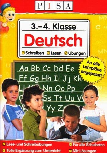PISA Lernsoftware 3.-4. Klasse Deutsch. Windows Vista und XP: PC-Lernsoftware