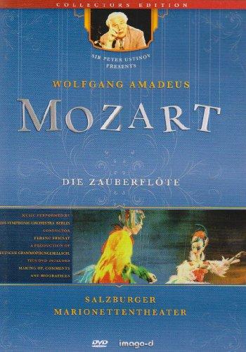 Die Zauberflöte - Salzburger Marionettentheater, 1 DVD