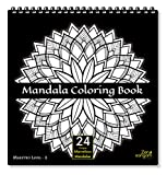 Zen Sangam Mandala Young Adults Coloring Book : Expert Maestros (Level 2) – 24 Unique Marvelous Mandalas