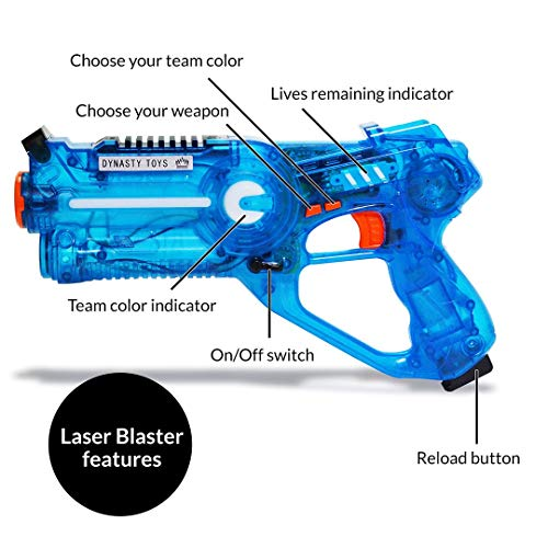 Laser Tag blaster features
