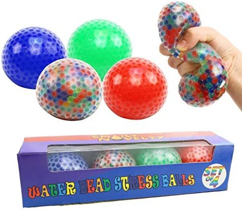 Smart Novelty Water Bead Squishy Stress Balls for Kids and Adults Colorful Sensory Toy and Stress product image