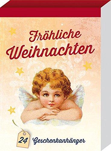 Fröhliche Weihnachten: 24 nostalgische Geschenkanhänger