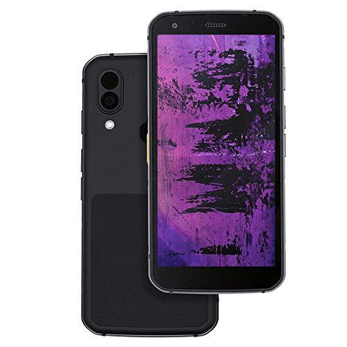 CAT S62 Pro Robustes Outdoor Smartphone mit FLIR Wärmebildkamera (5.7 Zoll FHD+ Bildschirm, 128 GB Speicher, 6 GB RAM, Dual-SIM, IP68, 4G, Android 10) schwarz