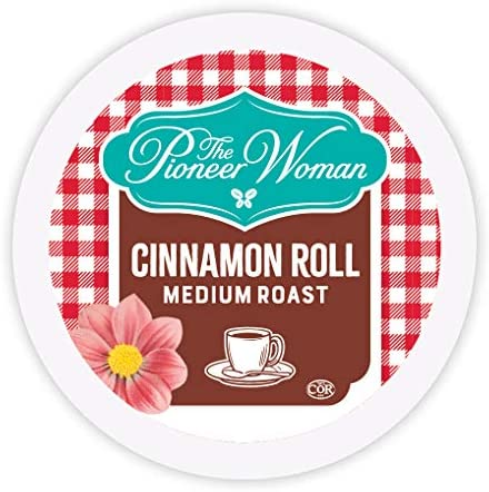 The Pioneer Woman Flavored Coffee Pods Cinnamon Roll Medium Roast Coffee Flavored Single Serve product image