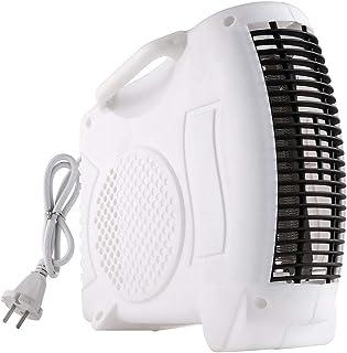 LYzpf Rápido Calentador de Ventilador Mini Ajuste de 3 Modos Portátil Calefactor Eléctrico Bajo Consumo de Energía para Habitación Oficina Baño