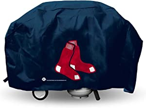 Rico Industries MLB Deluxe Grill Cover MLB Team: Boston Red Sox