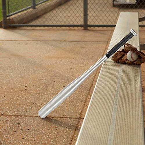 Jimfoty Bastão de beisebol antiderrapante de liga de alumínio leve de 71,12 cm, taco de beisebol esportivo, para uma boa sensação nas mãos, para adultos, prática de treinamento juvenil para autodefesa