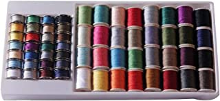 60 Pack All Purpose Thread Spools Box, Assorted Colors