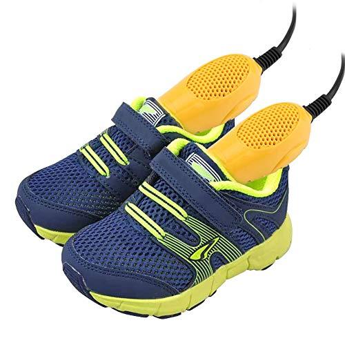 lyrlody Schuhwärmer, Elektrischer Schuhtrockner Stiefeltrockner für Kinderschuhe, 2 Trocken-Modulen, 9,8 * 3,9 * 2 cm
